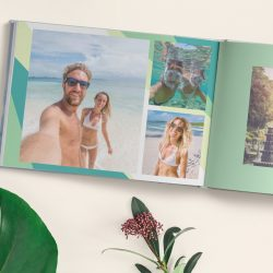 Create a Honeymoon Photo Book with Motif