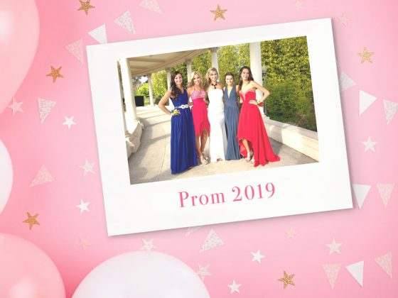 Prom Photo Book with Motif