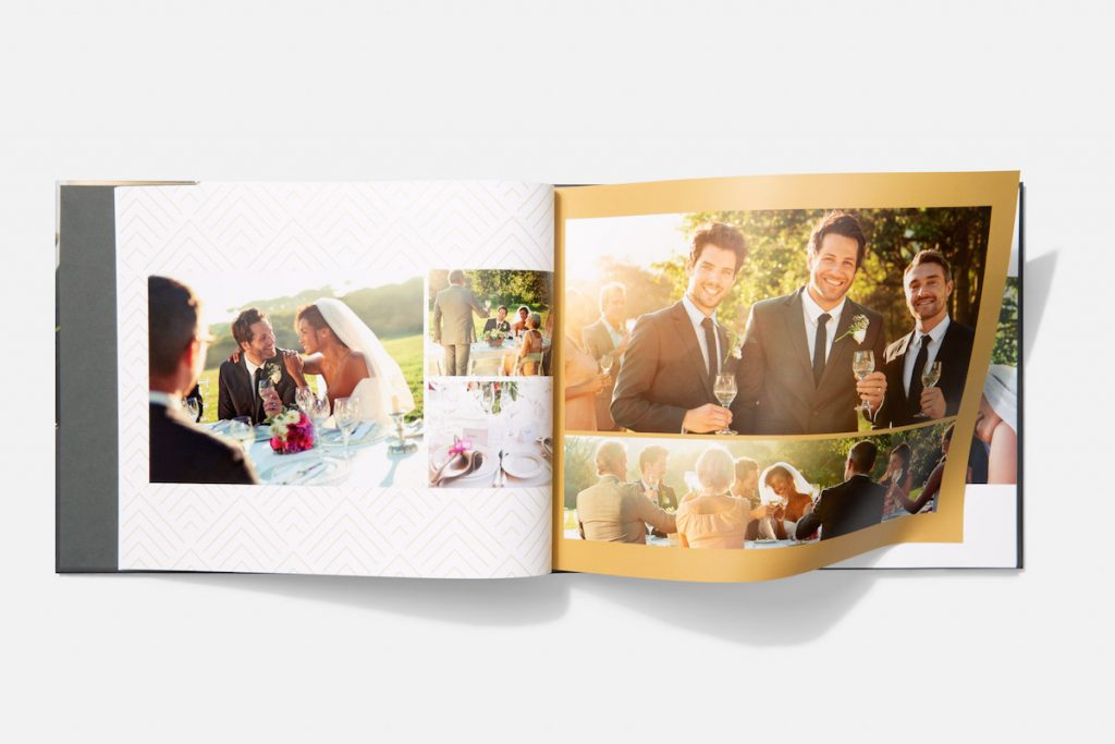 Motif gives you design options so you can customize the look and feel of your photo book, unifying the entire project.