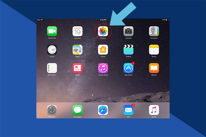 How to Access iCloud Photos on iPhone, iPad & iPod Touch: Step 1