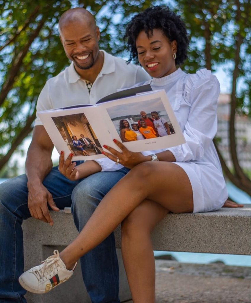 "A photo book of your ""Story of Us"" is the perfect Valentine's Day gift 