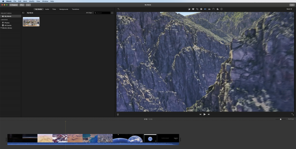 Open with iMovie