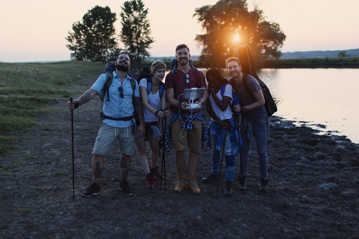 Use a remote with an iPhone camera and never miss a group photo