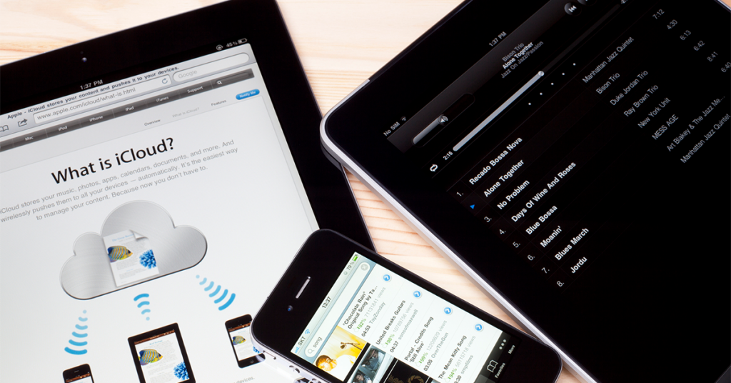 iCloud Photos works across all iOS devices with an iCloud account.