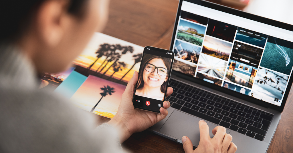 Keep photos well-organized with cloud storage and other resources.