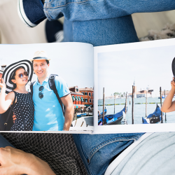 A Motif photo book keeps wonderful memories in one customized, easy-to-create place.